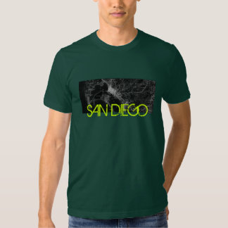 San Diego Map T-shirt