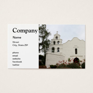 San Diego Mission Business Card