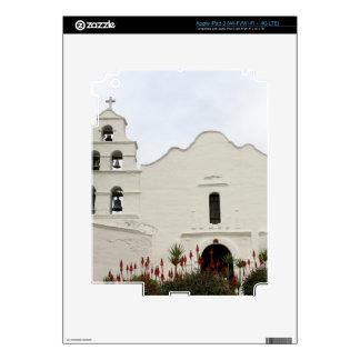 San Diego Mission iPad 3 Decals