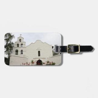 San Diego Mission Bag Tag