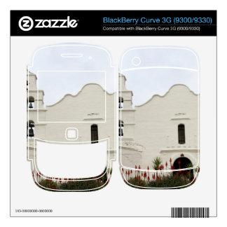 San Diego Mission BlackBerry Decals