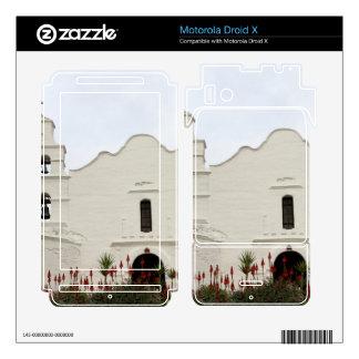 San Diego Mission Motorola Droid X Skins