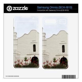 San Diego Mission Samsung Omnia Decals