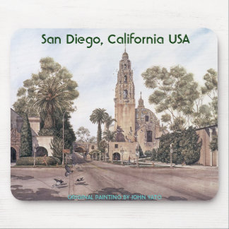 san diego mouse pad