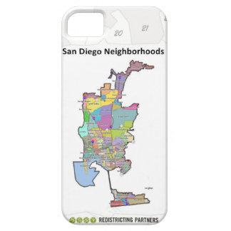 San Diego Neighborhoods iPhone SE/5/5s Case
