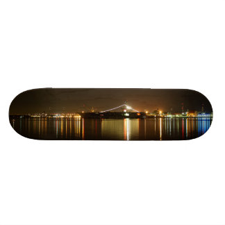 San Diego Night Lights Skateboard