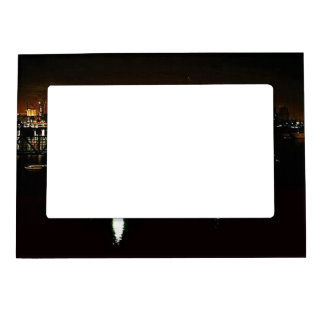 San Diego Night Skyline Magnetic Picture Frame