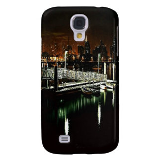 San Diego Night Skyline Samsung Galaxy S4 Case