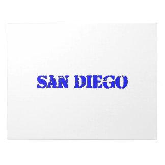 San Diego Note Pad
