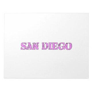 San Diego Notepad