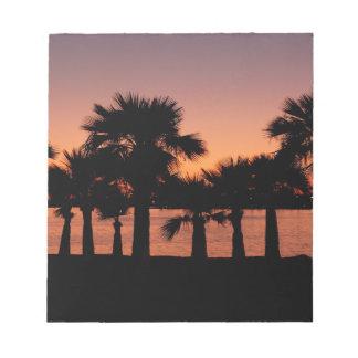 San Diego palms Notepad