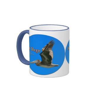San Diego - PELICAN Ringer Mug