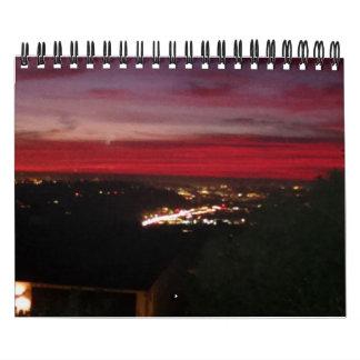 San Diego perfect sunsets calendar