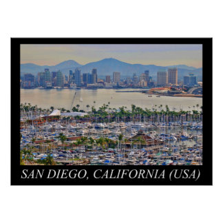 San Diego Point Loma Poster