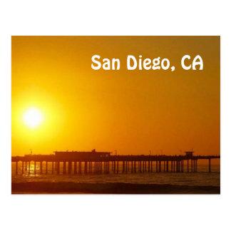 San Diego, postal de CA