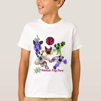 San Diego Pug Rescue 2013 Superhero Pugs Logo 2 T-Shirt