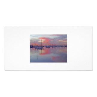 San Diego Reflection Photo Card