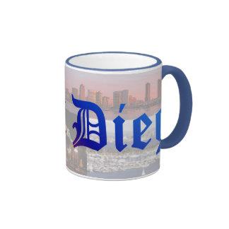 San Diego Ringer Mug