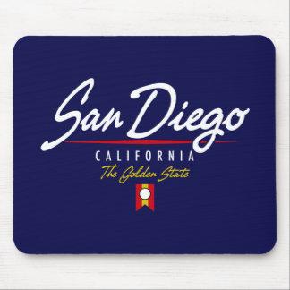 San Diego Script Mouse Pad