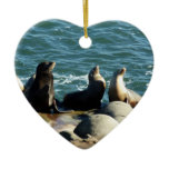 San Diego Sea Lions Ceramic Ornament