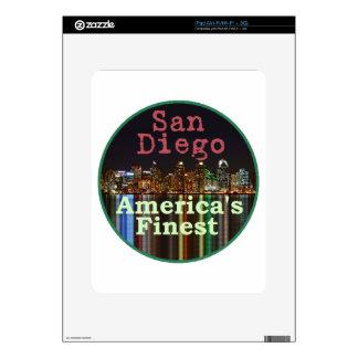 San Diego Skin For iPad