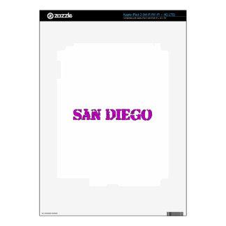 San Diego Skin For iPad 3