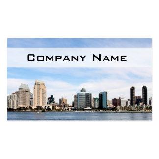 San Diego Skyline Business Card