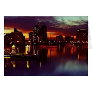 San Diego Skyline Cards