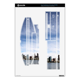 San Diego Skyline Decals For PS3