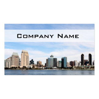 San Diego Skyline Double-Sided Standard Business Cards (Pack Of 100)