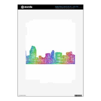 San Diego skyline iPad 3 Decals