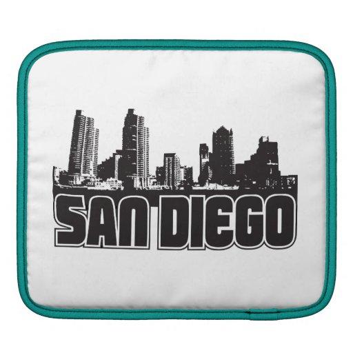 San Diego Skyline iPad Sleeves