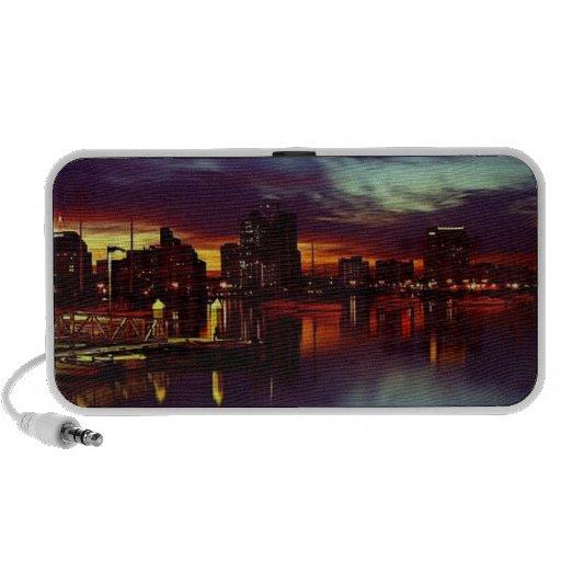 San Diego Skyline iPod Speakers