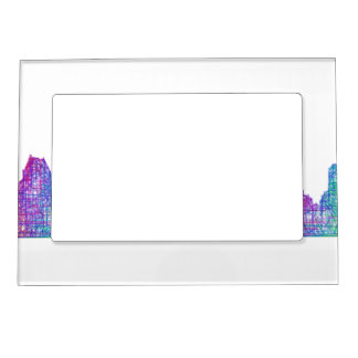 San Diego skyline Magnetic Picture Frame