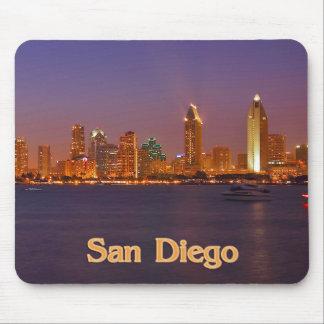 San Diego Skyline Mousepads