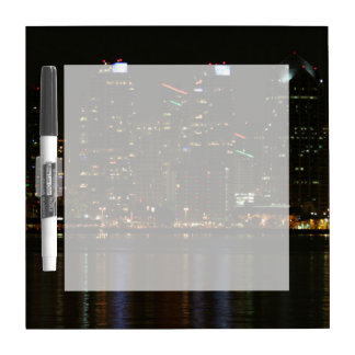 San Diego Skyline Night Dry-Erase Whiteboard
