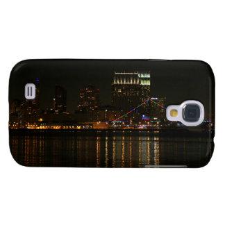 San Diego Skyline Night Galaxy S4 Case