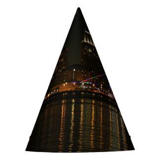 San Diego Skyline Night Party Hat