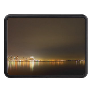 San Diego Skyline Night Tow Hitch Covers