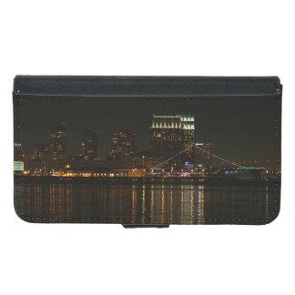 San Diego Skyline Night Samsung Galaxy S5 Wallet Case