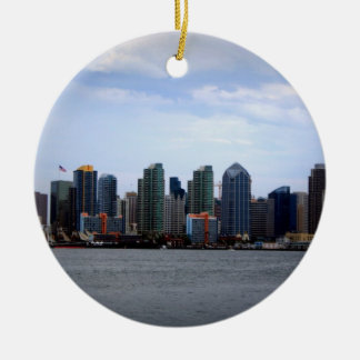 San Diego Skyline Ornaments