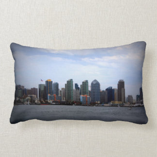 San Diego Skyline Throw Pillows