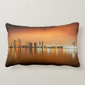 San Diego Skyline Pillow Two Different Pictures