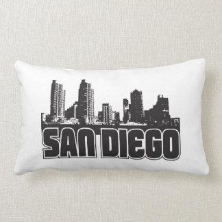San Diego Skyline Pillows