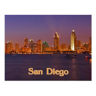 San Diego Skyline Post Card