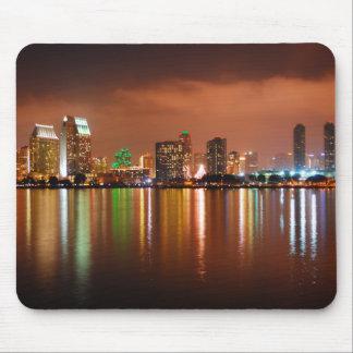San Diego Skyline- San Diego, California Mouse Pad