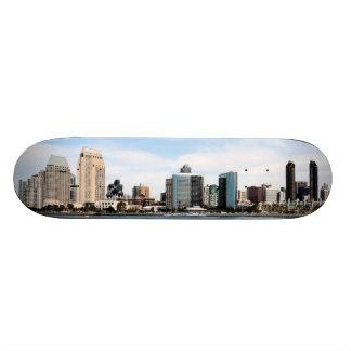 San Diego Skyline Skateboard Deck