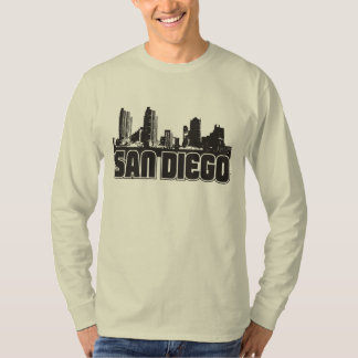 San Diego Skyline Tee Shirt