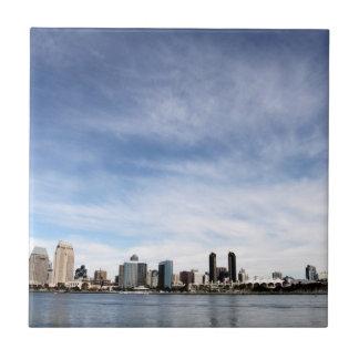 San Diego Skyline Tile