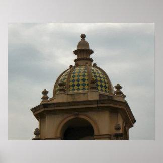 san diego steeple print